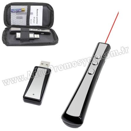 Promosyon 4 GB Usb Flash Bellek ve Lazer Pointerli Sunum Kalemi GBA3109-F
