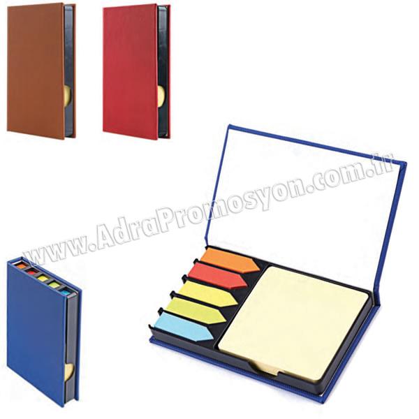 Promosyon 5 Renkli Yapışkan Notluk Seti Notluklu AMG13003