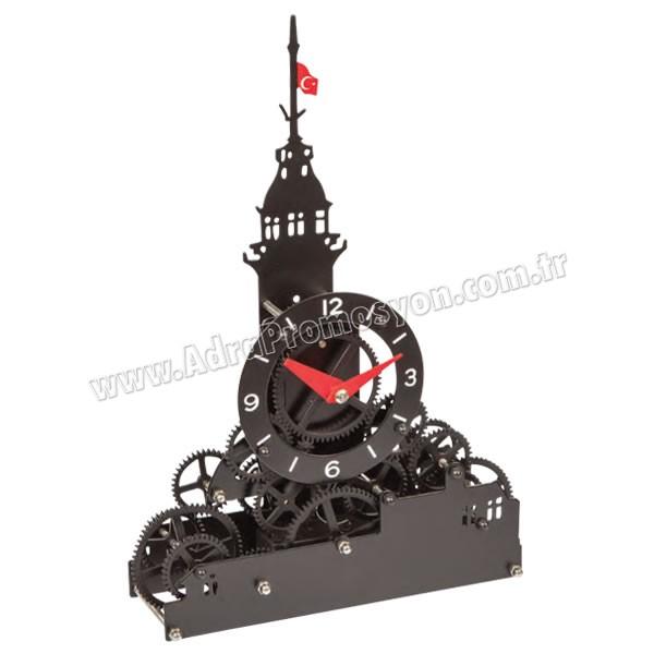 Promosyon Dekoratif Kız Kulesi Saat AS20542