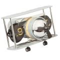 Dekoratif Nostaljik Uçak Saat Yaprak Mekanizmalı AS20534
