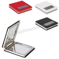 Promosyon Deri Metal Makyaj Aynası Büyüteçli AAM10127