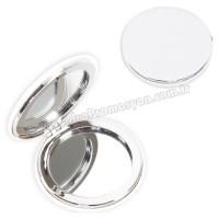 Promosyon Deri Metal Makyaj Aynası Büyüteçli AAM10129