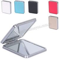 Promosyon Deri Metal Makyaj Aynası Büyüteçli AAM10139