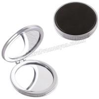 Promosyon Deri Metal Makyaj Aynası Büyüteçli AAM10141