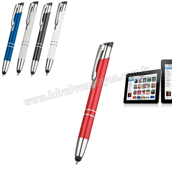Promosyon Dokunmatik Ekran Kalemi Tükenmez AKL18007