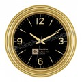 Duvar Saati Altın 37 Cm Özel Kadran AS20115-AG