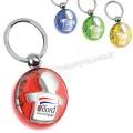 AA1556-S Promosyon Erkek Çocuk Figürlü Anahtarlık Şeffaf Renkli Çift Taraflı