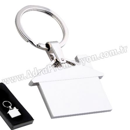Promosyon Ev Figürlü Metal Anahtarlık GA1502