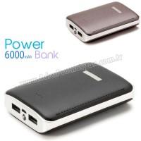 Promosyon PowerBank 6000 mAh - 2 Çıkışlı - Fenerli APB3761
