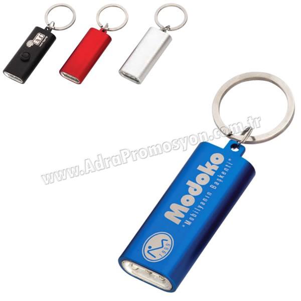 Promosyon Işıklı Anahtarlık 3 Ledli AA1581