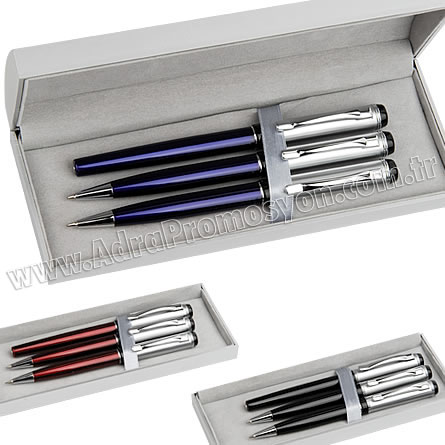Promosyon Kalem Seti Versatil Tükenmez Roller GKS2310