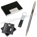 GKV820 Promosyon Kartvizitlik Seti Kalem ve Anahtarlıklı