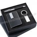 GKV867-S Promosyon Kartvizitlik Seti Kalem ve Anahtarlıklı