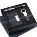 GKV871-S Promosyon Kartvizitlik Seti Kalem ve Anahtarlıklı