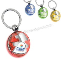 Promosyon Kız Çocuk Figürlü Anahtarlık Şeffaf Renkli Çift Taraflı AA1555-S