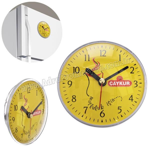Promosyon Magnetli Buzdolabı Saati AS20564