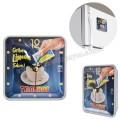 AS20565 Promosyon Magnetli Buzdolabı Saati