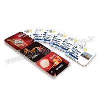 Promosyon Mantar Bardak Altlığı - Kare 6'lı Takım AMG13105-6
