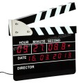 Klaket Temalı Dijital Masa ve Duvar Saati AS20503-B