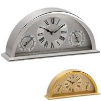 Promosyon Metal Masa Saati Nem Ölçer ve Termometreli AS20504