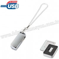 Promosyon Metal Flash Bellek 8 GB - Bileklikli AFB3307-8