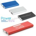 APB3756 Promosyon PowerBank 3000 mAh - Metal