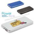 APB3757 Promosyon PowerBank 4000 mAh - Metal
