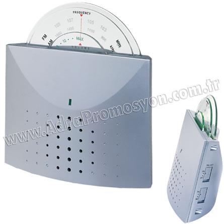 Promosyon Mini Radyo Am-Fm Işıklı Ekranlı GRD154