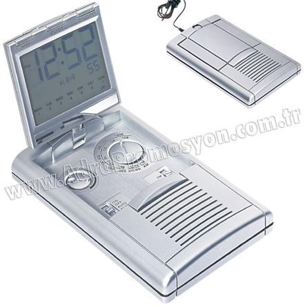 Promosyon Mini Radyo Am-Fm Takvimli ve Kulaklıklı GRD142