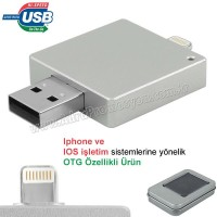 Promosyon OTG Flash Bellek 16 GB - Iphone Ios Sürücülü AFB3311