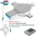 AFB3310 Promosyon OTG Flash Bellek 32 GB - Ios, Type-C ve Mini Usb - USB 3,0
