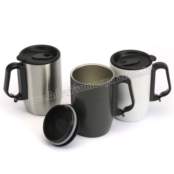 Promosyon Termos Bardak - Kupa - Mug 400 mL - Metal ATM21098