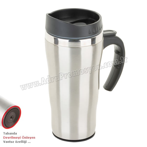 Promosyon Devrilmez Termos Bardak - Kupa - Mug 475 mL - Metal ATM21091