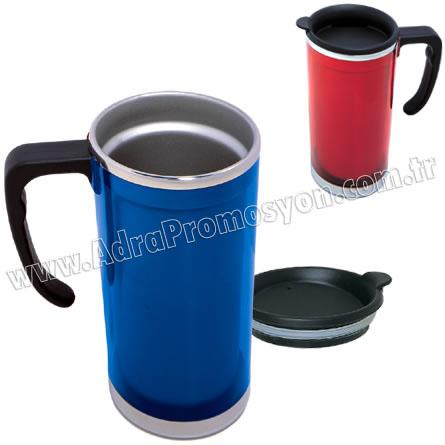 Promosyon Termos Bardak - Kupa - Mug 500 mL - Metal GTM87