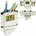 Ucuz Kalemlik Saatli Resim Çerçeveli Termometreli GMG455