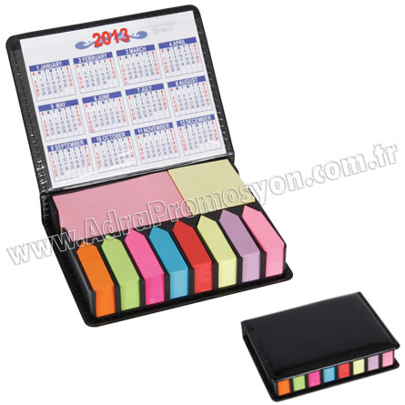 Promosyon Yapışkan Notluk Seti 10 Renk Takvimli GMG4041