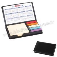 Promosyon Yapışkan Notluk Seti 5 Renk Takvimli ve Notluklu AMG13006